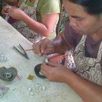 Kerajinan Perak di desa celuk, Bali
