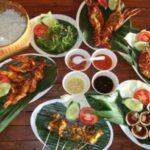 makan malam seafood jimbaran