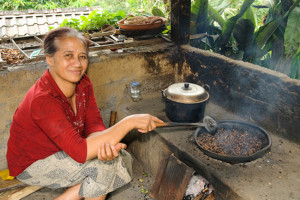 Traditional Bali Coffee Processing